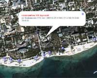 Спутниковая интерактиваня карта города Евпатория