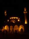 Достопремечательностей Евпатории - мечеть Джума-Джами ночью