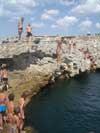 Фото Крыма, мыс Тарханкут - прыжки в ванну молодости