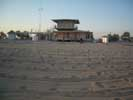 Фотографии Евпатории - пляж после вечерней уборки